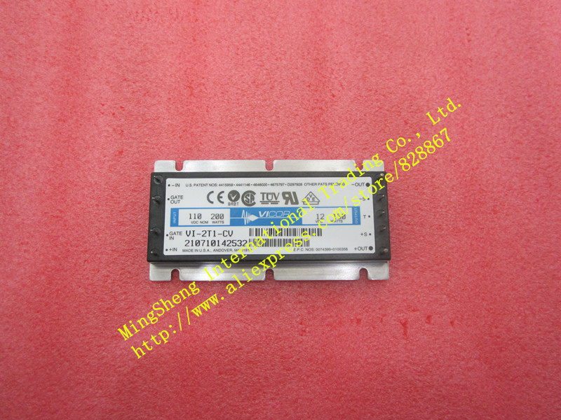 Original import VI-2T1-EV VI-2T1-IV VI-2T1-CV 100V 12V 150W power module quality assurance stk4026 rear projection convergence power amplifier module stk4026ii quality assurance stk4026