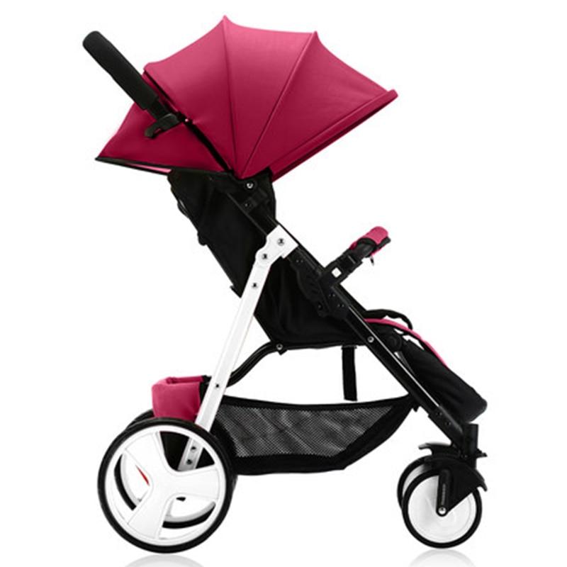 Wózek dziecięcy Sally parasolka zimą i latem z ręki może - Aktywność i sprzęt dla dzieci - Zdjęcie 4