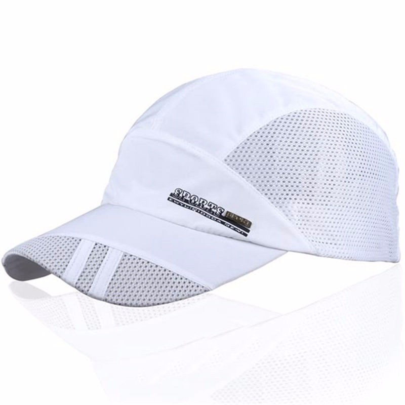 New Arrive Fashion Mens Summer Sport Baseball Hat Visor White Cap Hot Popular Hot Item Cool