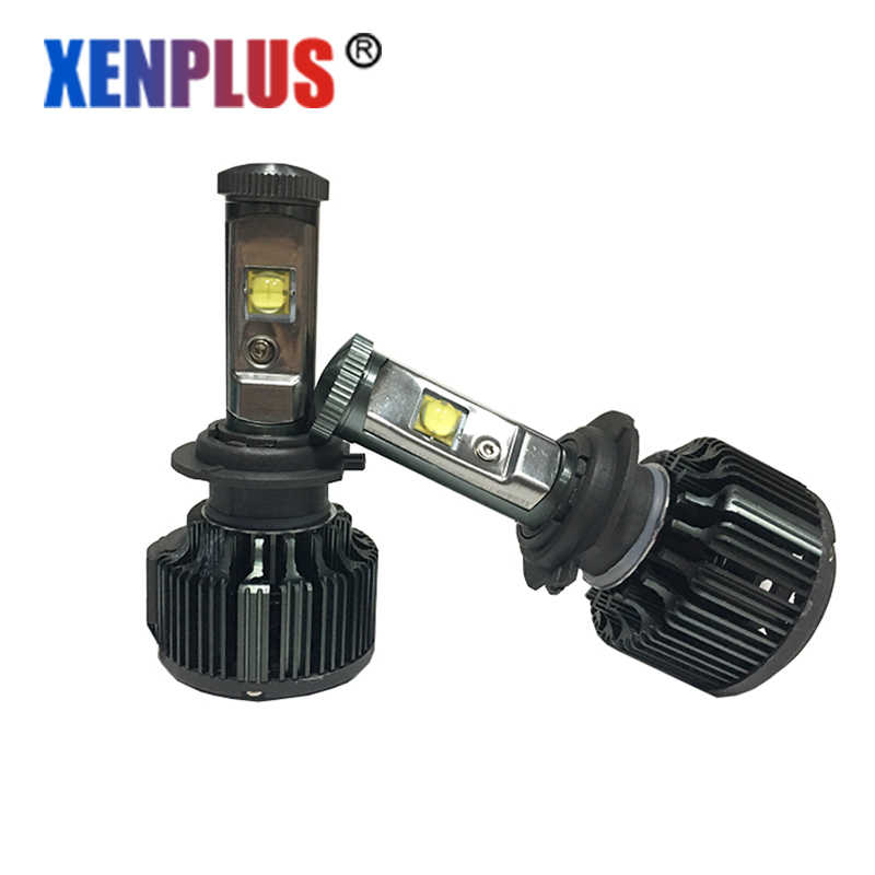 Xenplus Automobile headlight H4 Led HB4 Car light 12V H1 H7 H8/H9/H11 H3 9005 HB3 9006 Hi/Lo H13 Top quality V16 Turbo fans LED