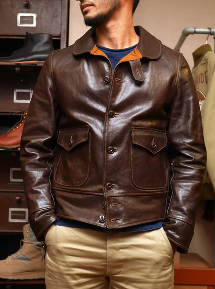 Free shipping.Brand new warm mens brown vintage cowhide Jackets,quality men genuine Leather jacket.style classic slim coat