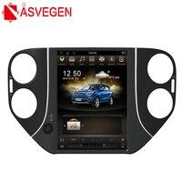 Asvegen 10.4'' 2G Ram Vertical Screen Android 6.0 Car Radio DVD Player Bluetooth GPS Multimedia For Volkswagen Tiguan 2010 2015