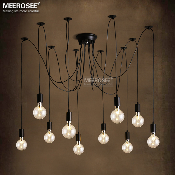 Contemporary Pendant Light Fixture American Style Decoration Suspension Lamp Fancy Hanging Vintage Re Md1205 In Lights From