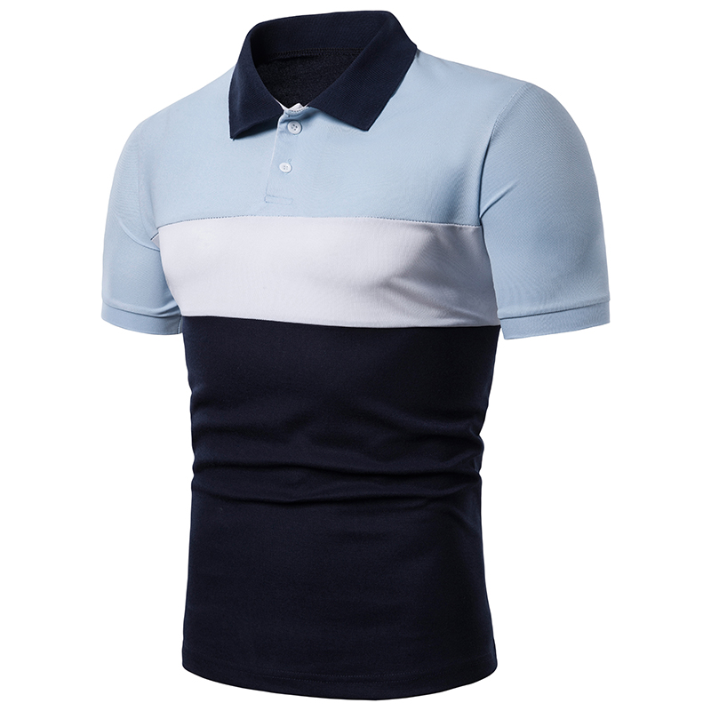 Short Sleeve   Polo   Men Pullover Casual Mens Clothing Good Quality   polo