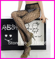 Free shipping New fashion sexy leopard jacquard fishnets stockings tights pantyhose