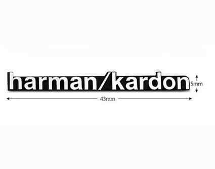 1X Mobil Styling Mobil Audio Menghias Cocok Harman Kardon untuk Audi A4 C5 B8 B7 C6 Q5 Q7 A3 b6 A6 C6 8P A7 Auto Aksesoris Mobil Styling
