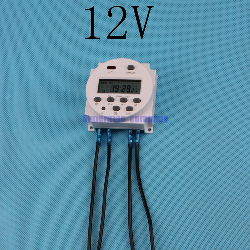 Digital Power Timer : Cn a v digital lcd power timer programmable