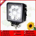 12 В 24 В Пятна Прожектор для Мотоцикла Грузовик ATV бездорожью Лодка 4WD 4x4 Квадратных привело свет работы 27 Вт