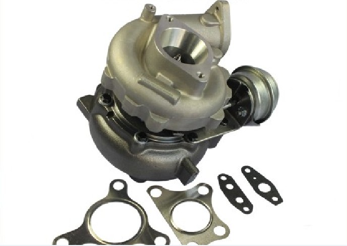 Xinyuchen Universal Turbo Turbocharger 0.63A/R V Band Flange Oil Cold 420HP 2.0 3.5L for VW 1.8T T3 T4 .63 AR 360 Degree Gasket|Turbocharger| |  - title=