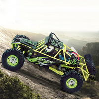 Good Children's toy WLtoys 12428 1/12 4WD Crawler RC Car With LED Light RTR 2.4GHz