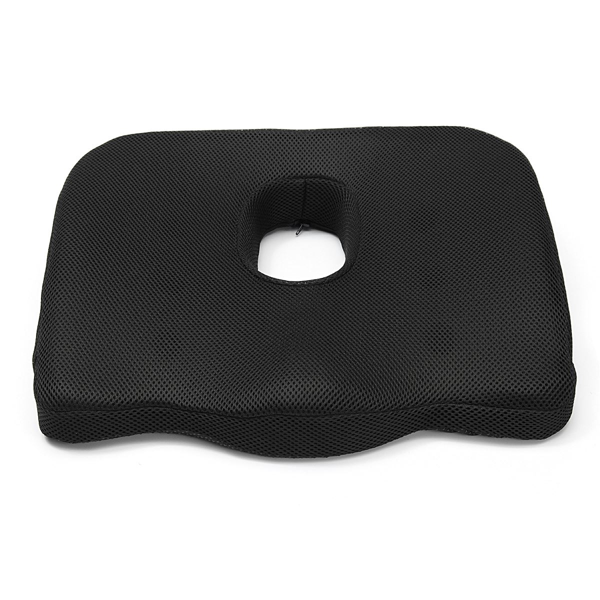 coccyx pillow memory foam seat cushion orthopedic design to relieve back sciatica and tailbone pain slip
