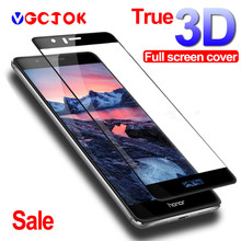 3D Full Cover Tempered Glass For Huawei P9 Lite P10 Lite P9 P10 Plus Screen