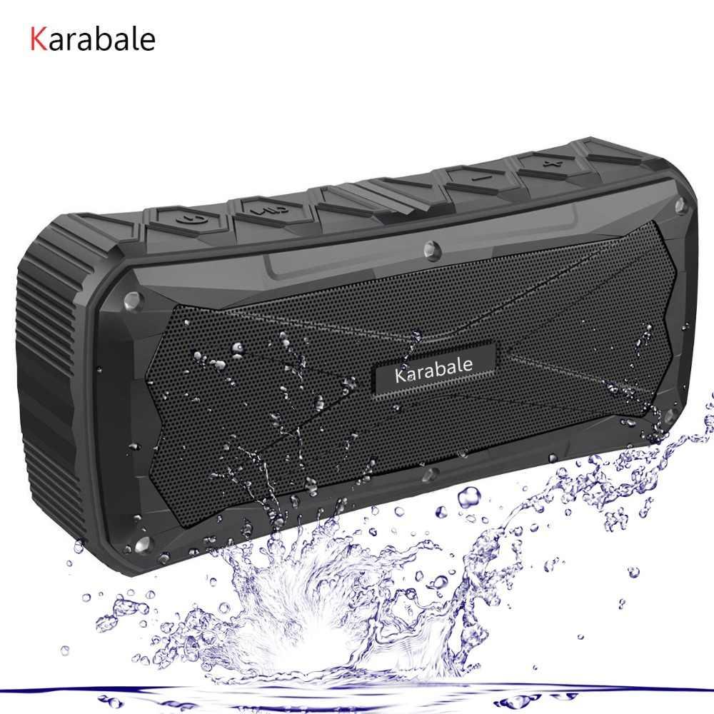 16 Вт водостойкий открытый портативный Bluetooth динамик 4500 мАч power Bank Super Bass 3D стерео беспроводной для верховой езды спортивный динамик TF Mic