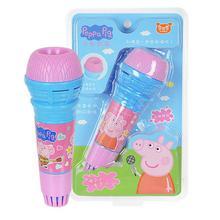 Горячая Распродажа 19 см подлинный милый микрофон свинка пеппа для детей мультяшная игрушка детский эхо микрофон детская игрушка подарок
