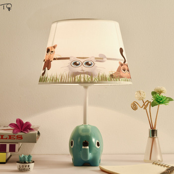 Children's Room Desk Lamps Led  Boys and Girls Simple Modern Cartoon Creative Lovely Decoration Bedside Table Lamps for Bedroom