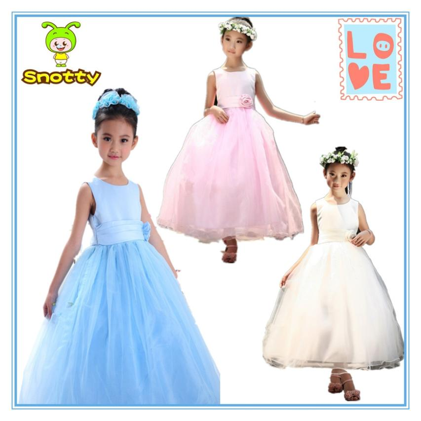 Latest Designs Whole Dance Dress Modern Formal Flower Dresses For 7 Year Olds Baby Kd1425 In From Mother Kids On