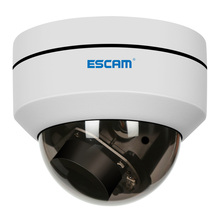 ESCAM PVR002 2MP HD 1080P IP PTZ Dome Camera 4X Zoom 2.8-12mm Lens Water Resistant Night Vision Motion Detection
