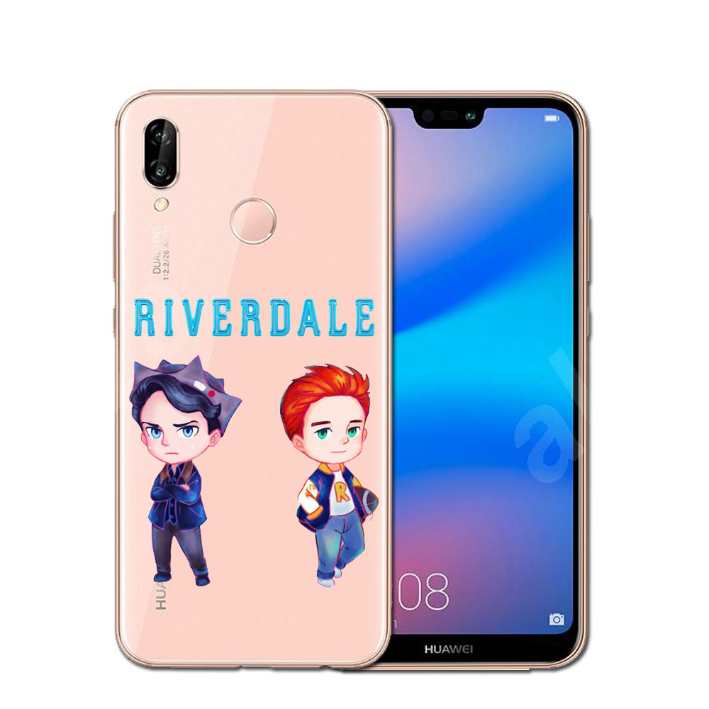 Huawei P8 Lite 2017 Wallpapers: Hot TV Riverdale Soft TPU Phone Case Cover For Huawei P10
