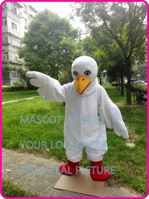 ①La mascota de la paloma pájaro traje de fantasía personalizado ...