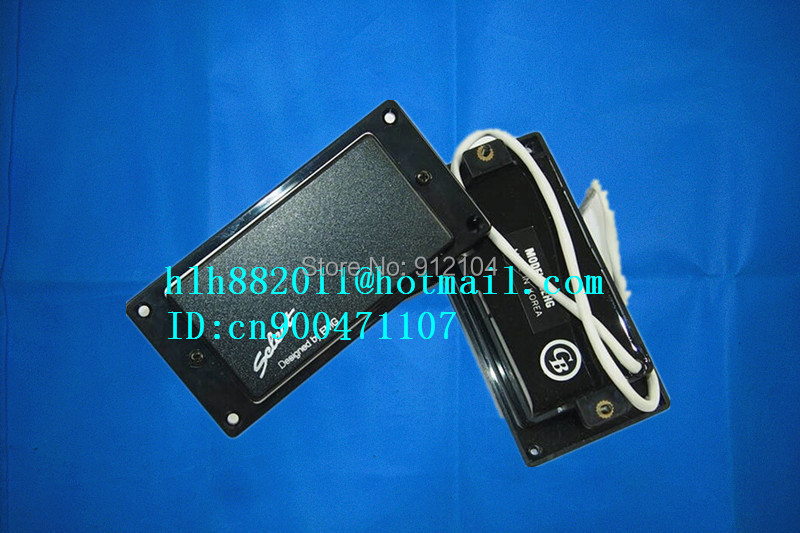 free shipping new electric guitar closed pickup in black made in Korea  8328 belcat bass pickup 5 string humbucker double coil pickup guitar parts accessories black