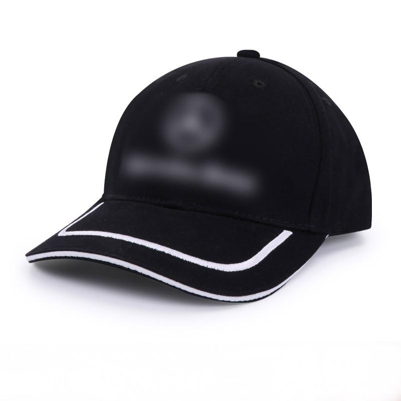 Мужская бейсболка с логотипом Mercedes-Benz, черная Повседневная Кепка с регулируемой застёжкой, 2019 title=