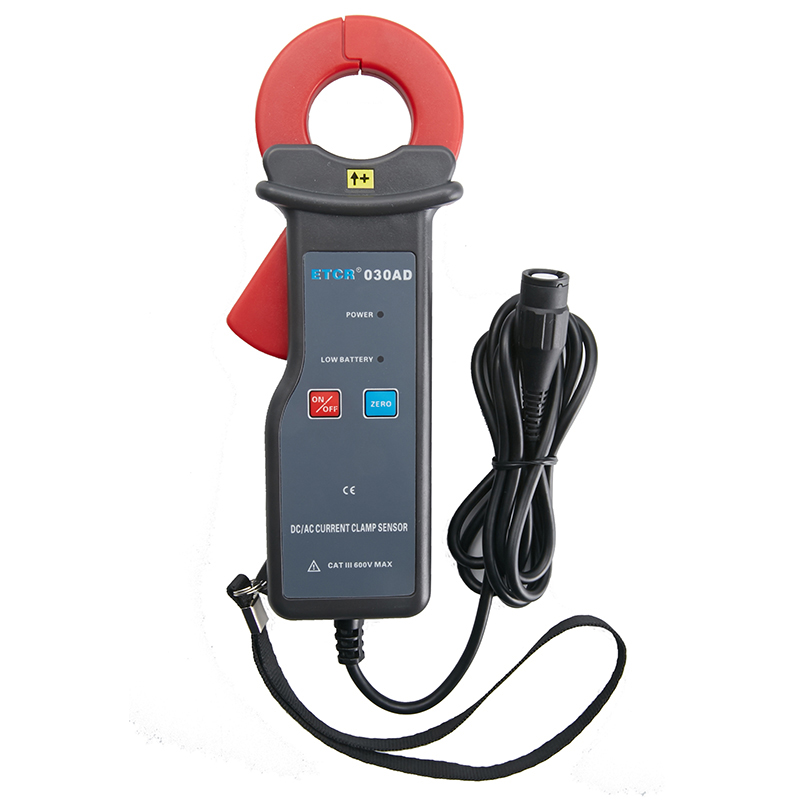 ETCR030AD AC/DC clamp leakage current sensor DC leakage current, phase, power factor and other testing
