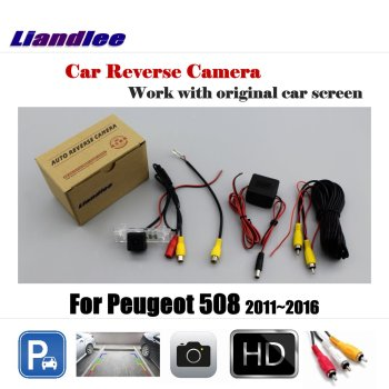 Liandlee For Peugeot 508 2011~2016 Display / Car Rear View Back Backup Camera Rearview Reverse Reversing Parking