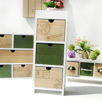 Modern Style Wooden Storage Drawers Home Decoration Accessories Modern Storage Box Storage Decorative Drawer
