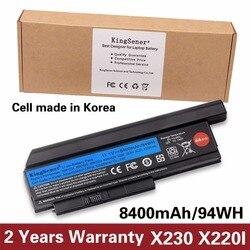 Korea Cell KingSener New Laptop Battery for Lenovo Thinkpad X230 X230I X220 X220I X220S 45N1029 45N1028 45N1172 45N1022 44++