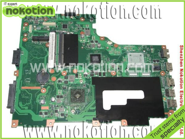 NOKOTION NBC1U11002 EG70BZ Laptop Motherboard for Gateway NE71B 1200 CPU on board DDR3 mainboard mother boards free shipping eg70 eg70bz rev 2 0 for gateway ne71b ne71b06u laptop motherboard e2 1800 cpu ddr3