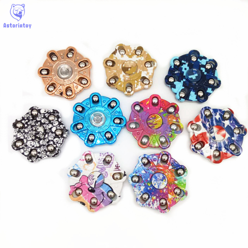 2017 New T-Spinner Fidget Toy EDC HandSpinner Anti Stress Reliever And ADAD Hand Spinners