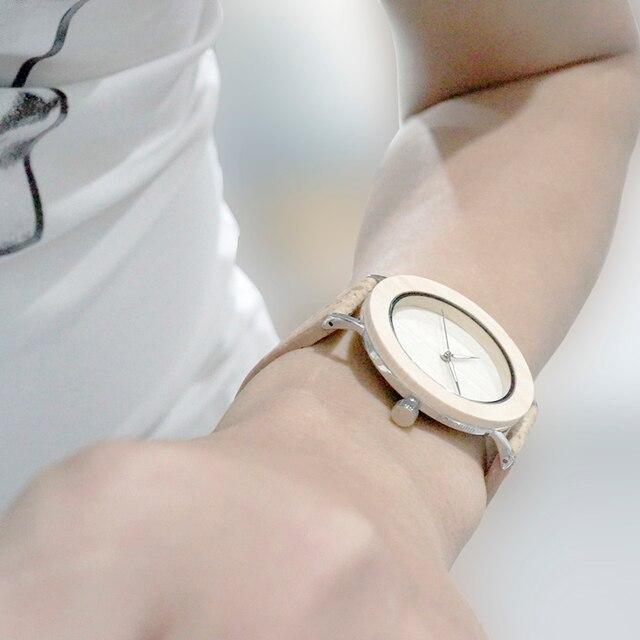Zegarek drewniany unisex BOBOBIRD + pudełko