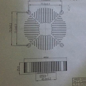 2Pcs/Set  LED Eletronic Heatsink 95*95*25mm Pure Aluminium Heat Sink Radiator For Led Light  Cooler Cooling Accessories YL-0008 10