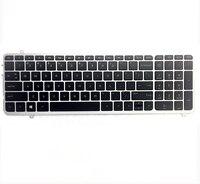 100% New For HP Envy M6 K M6 K000 M6 K100 Series Keyboard With Frame Backlit 725450 001