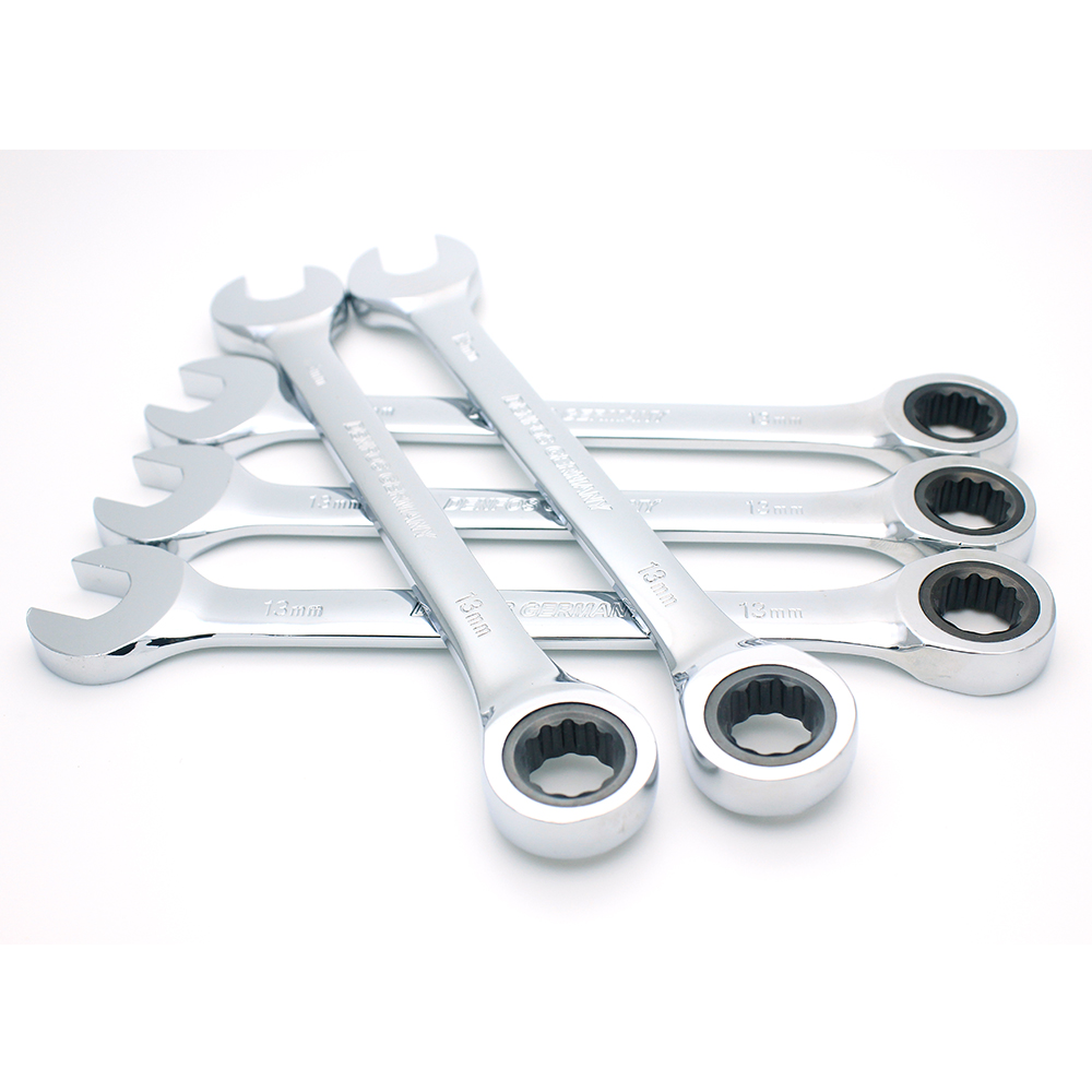 Ratchet Combination Wrench Set Torque Gear Spanner Wrenches Set  And A Set Of Key Hand Tools