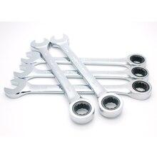 Ratsche Kombination Wrench Set Drehmoment Getriebe Spanner Schraubenschlüssel Set und EINE Reihe von Schlüssel Hand Werkzeuge