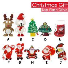 Christmas USB Flash Drive 2GB 4GB 8GB 16GB 32GB