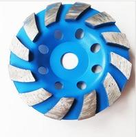 4 inch 100mm diamond segment slijpen cup wiel voor natte polijstmachine voor keramische cement beton graniet steen keramische