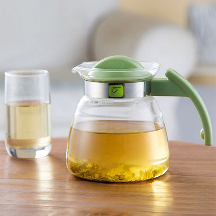 Glass cold kettle cold kettle high temperature home cold water bottle large capacity heat resistant explosion-proof teapot