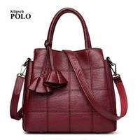 New Genuine Leather Women Handbags Ladies Purse Bolsa Feminina Large Shoulder Crossbody Tote Bags Women Messenger Bag