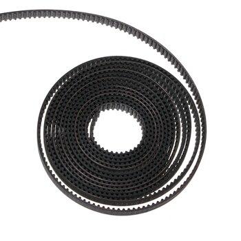 2m GT2 Correa dentada de goma abierto 2GT 6mm de ancho para impresora CNC 3D Prusa i3