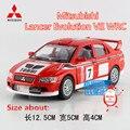 KINSMART Modelos de Fundición de Metal/1:36 Scale/Mitsubishi Lancer Evolution VII WRC/juguetes para los niños regalos o colecciones