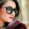 Fashion Style Velvet Cat Eye Sunglasses Women Brand Designer Retro Ladies Sun Glasses For Woman Cateye Womens Sunglass Vintage