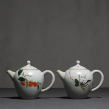 PINNY 225ml Your Kiln Retro Ceramic Teapots Porcelain Household Teapot Chinese Kung Fu Tea Pots Handpainted Drinkware