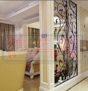 Wrought Iron Window Grilles Door Trim Partition Home