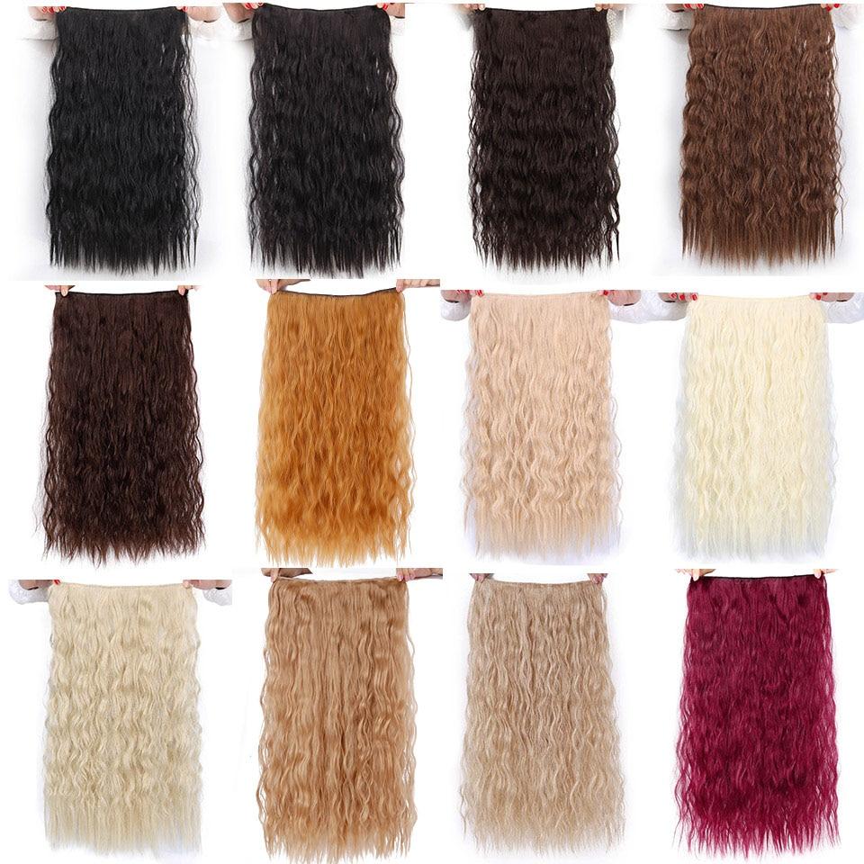 AISI BEAUTY Włosy syntetyczne 5 klipsów Rozszerzenie Water Wave - Włosy Syntetyczne - Zdjęcie 3