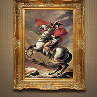 Hand Painted Oil Painting Jacques Louis David France Napoleon Picture Canvas Painting for Living Room Decor Gift canvas art deco