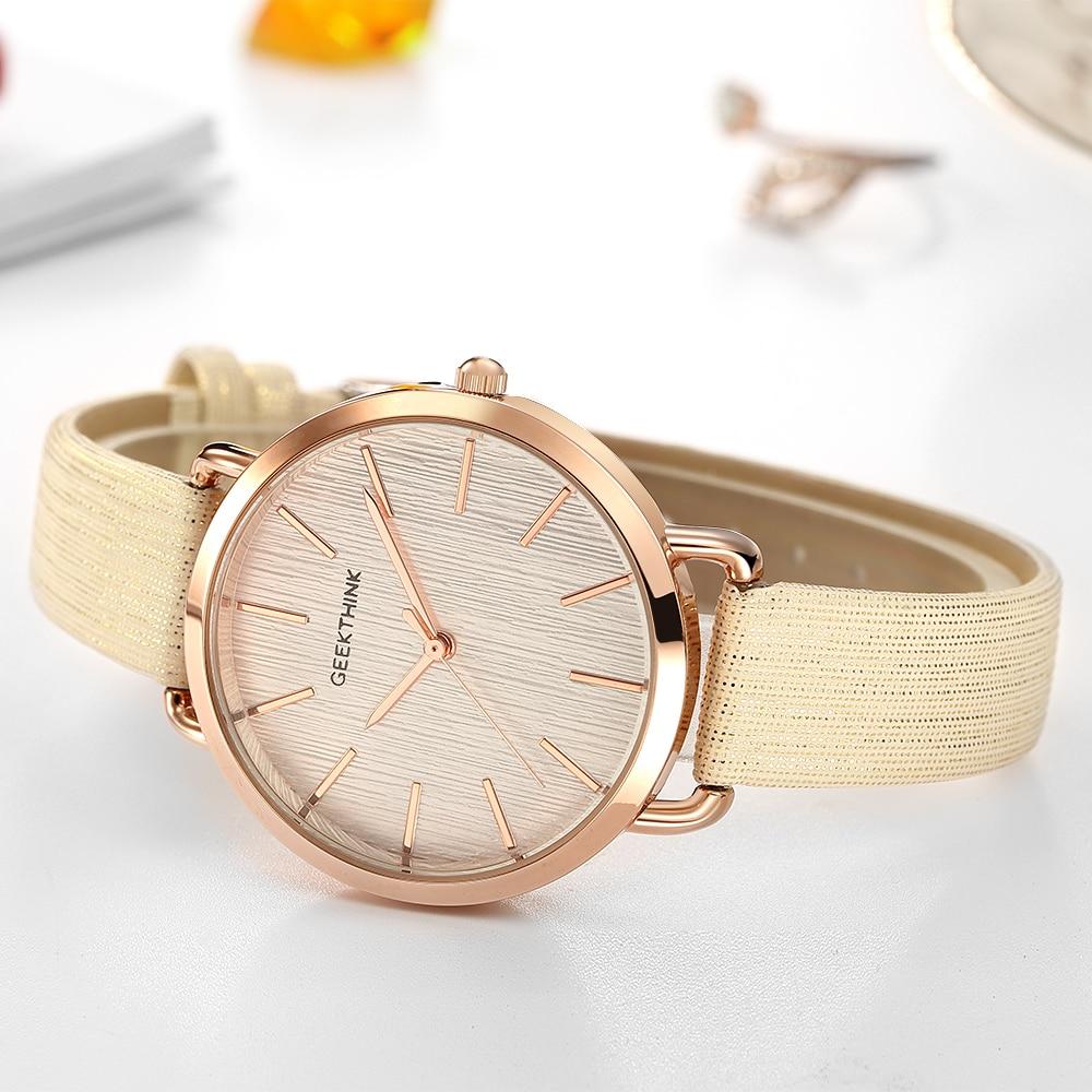 Geekthink top luxe merk mode quartz horloges dames diamanten horloge - Dameshorloges - Foto 2