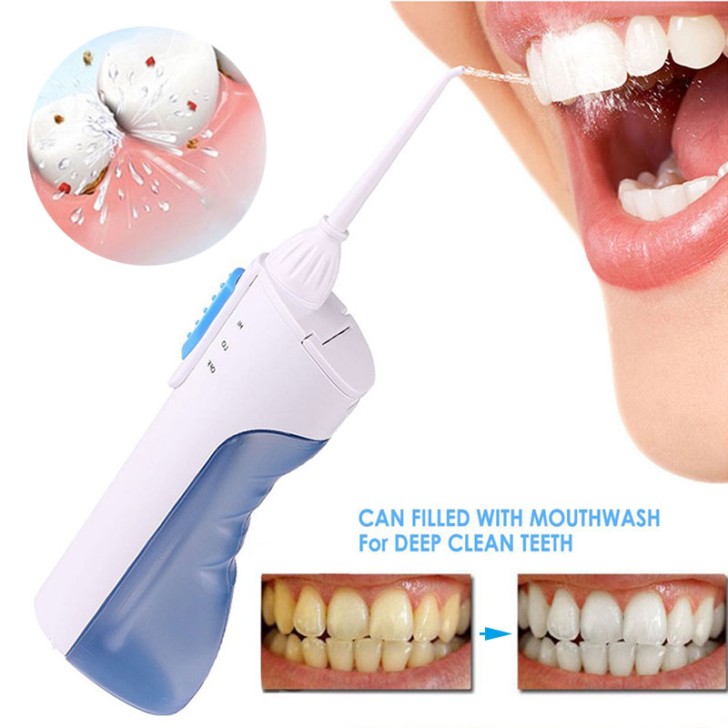 Dental Water Flosser Oral Irrigator Irrigador Dental Waterpick Water Irrigation Water Jet Pick Dry Battery Oral Irrigator HB88 pro teeth whitening oral irrigator electric teeth cleaning machine irrigador dental water flosser teeth care tools m2
