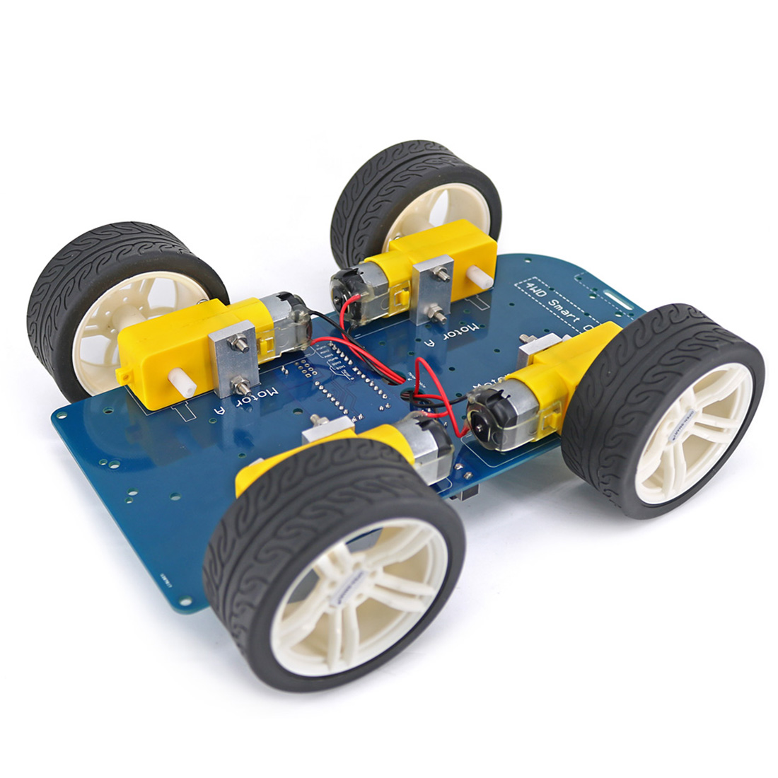 Disassembled Four-wheel Drive Bluetooth Intelligent Chassis Programmable Kit For Arduino For UNO R3 Nano Smart Underpan Suite